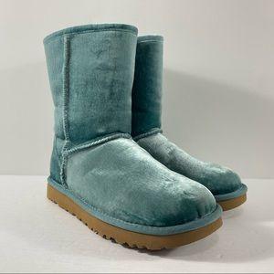 UGG Australia Classic Short II Velvet Boots